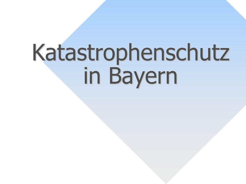 Katastrophenschutz in Bayern
