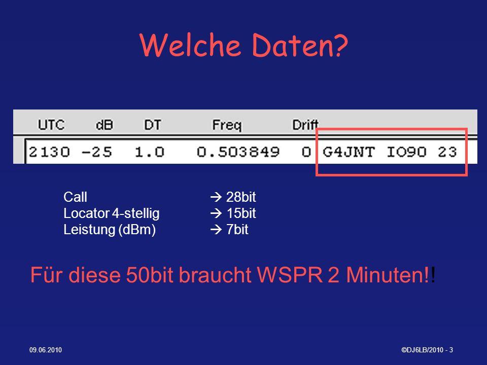09.06.2010©DJ6LB/2010 - 54 n-Daten