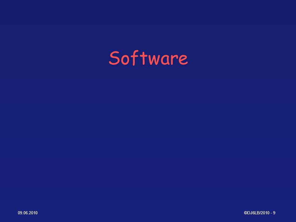 09.06.2010©DJ6LB/2010 - 20 WSPR Frequenzen (fest) Auf ALLEN Bändern USB (bzw.