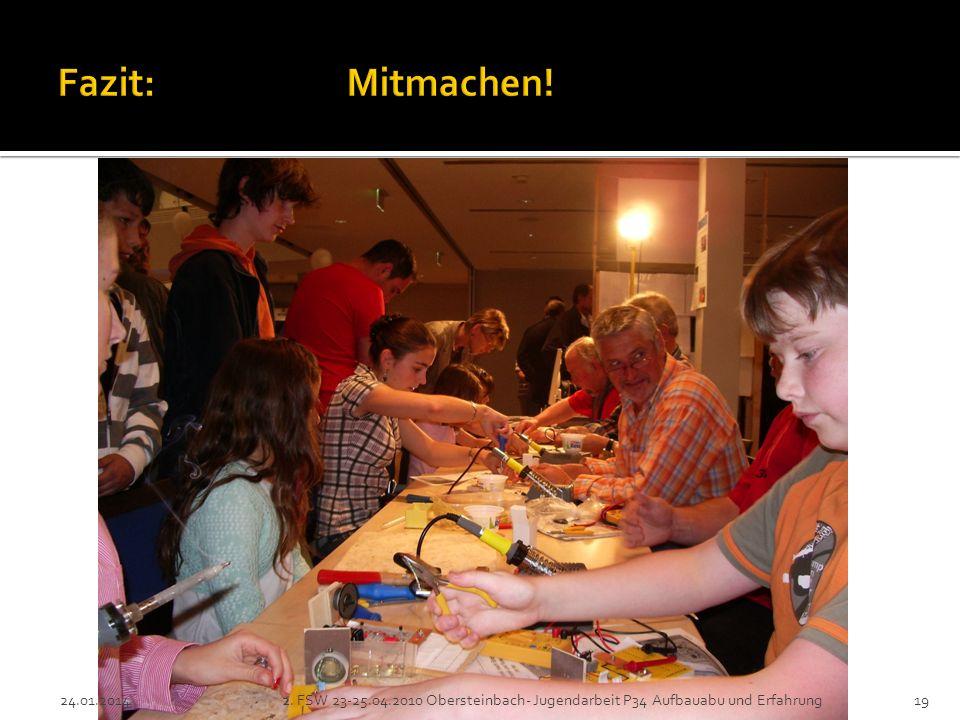 2. FSW 23-25.04.2010 Obersteinbach- Jugendarbeit P34 Aufbauabu und Erfahrung19