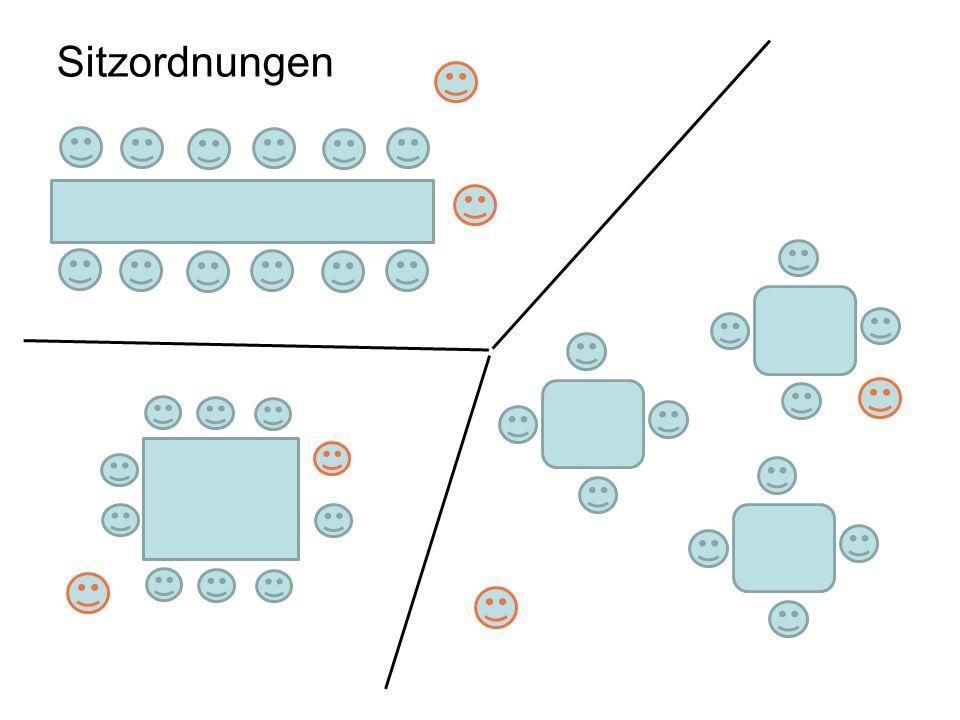 Sitzordnungen