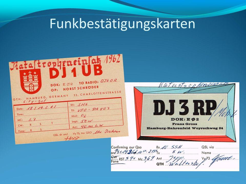 Heinz Müller, DL9YS bei DL0HMGerhard Hoyer, DJ1GE an seiner Station