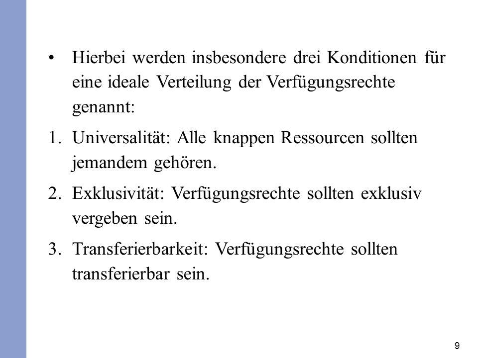 10 Transferierbarkeit Die Transferierbarkeit ist ja bereits als Teil des ius abutendi angesprochen worden.