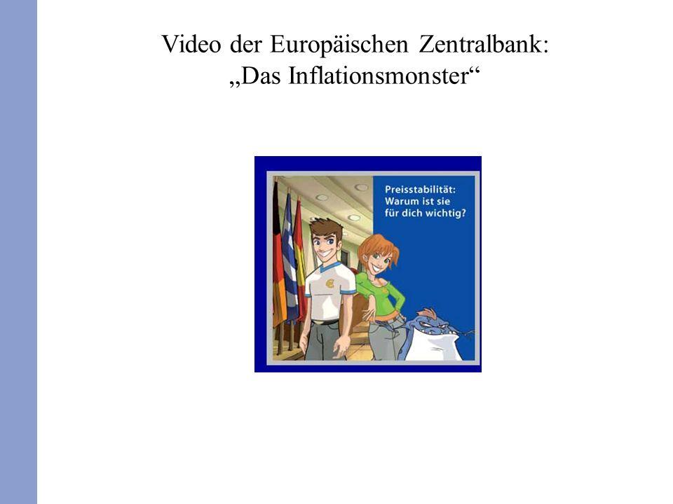 Video der Europäischen Zentralbank: Das Inflationsmonster