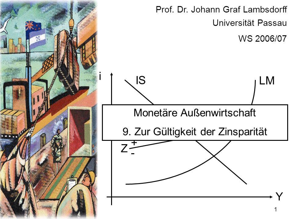 22 Empirische Untersuchungen geben wenig Unterstützung für die Theorie spekulativer Blasen.