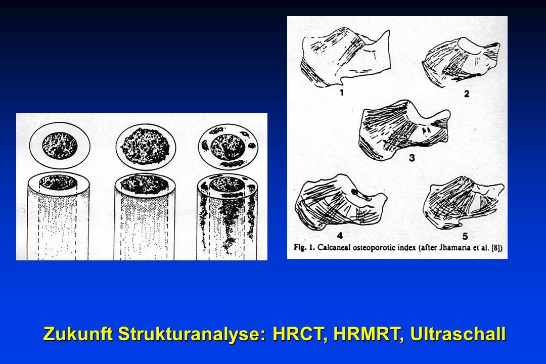 Zukunft Strukturanalyse: HRCT, HRMRT, Ultraschall