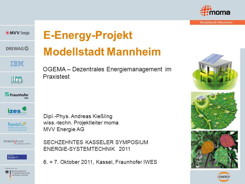 OGEMA und Standardisierung: Dienstevermittlungsumgebung moma: Energiebutler = Energiemanager + EM - Gateway Systemmodell Objekt-Energiemanagement Verbindung mit BEMI-System
