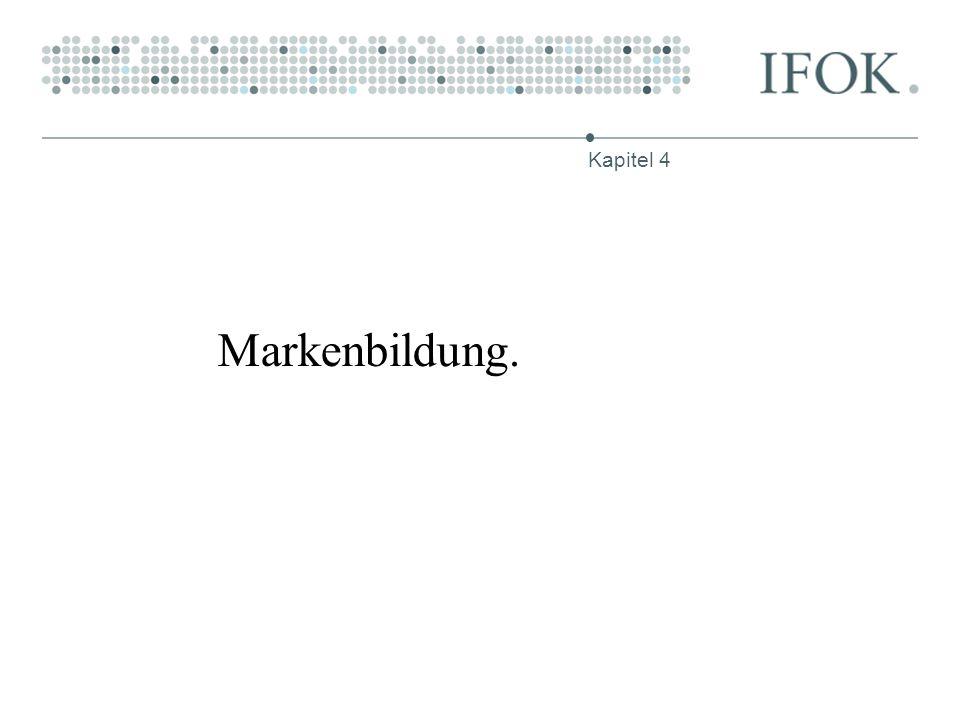 Markenbildung. Kapitel 4