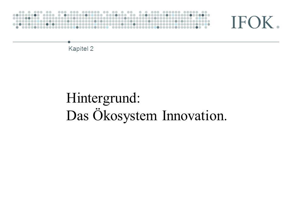 Hintergrund: Das Ökosystem Innovation. Kapitel 2
