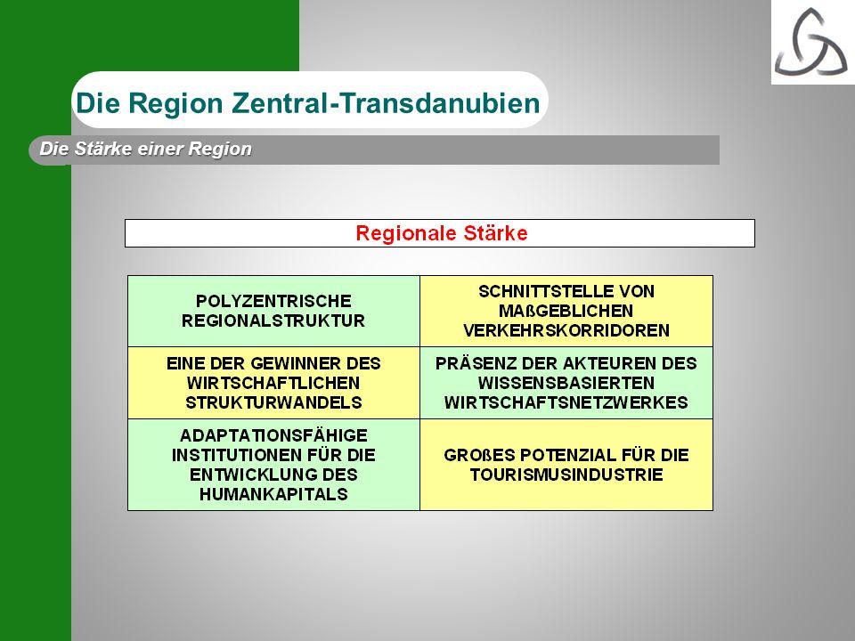 Die Region Zentral-Transdanubien Die Stärke einer Region
