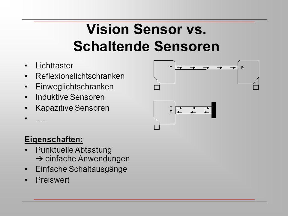 Vision Sensor vs.