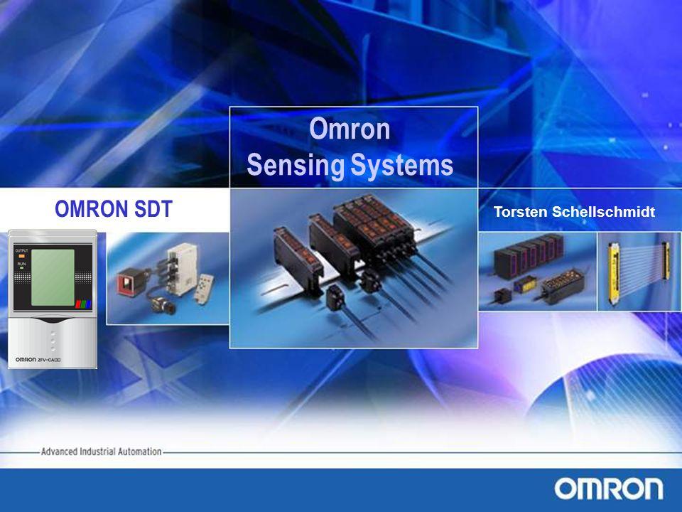 OMRON SDT Torsten Schellschmidt Omron Sensing Systems