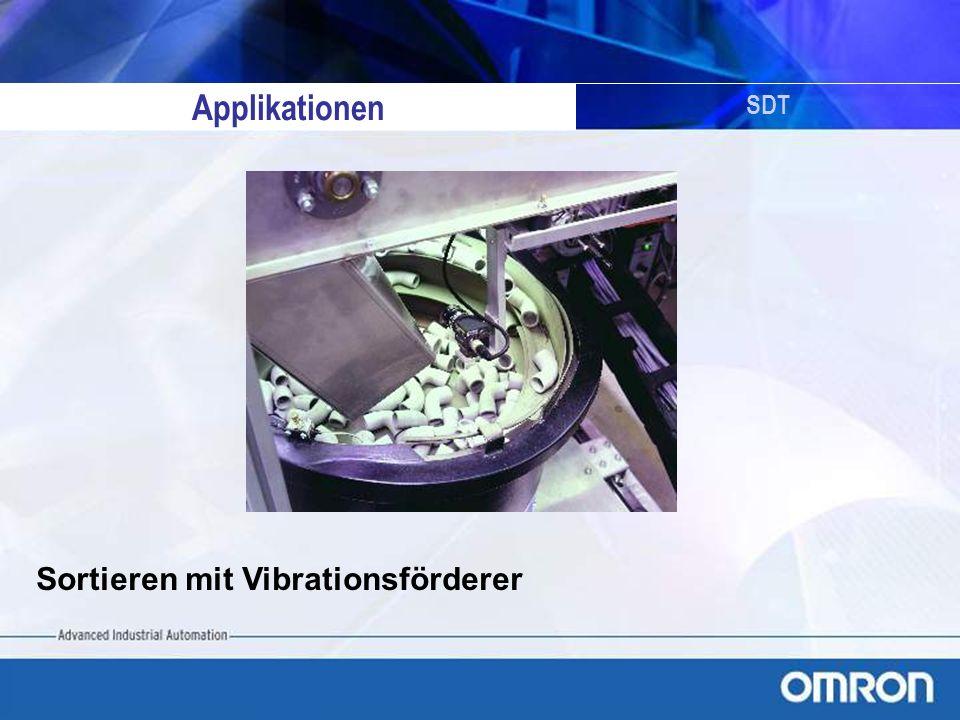 SDT Sortieren mit Vibrationsförderer Applikationen