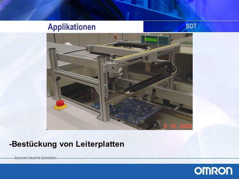 SDT -Bestückung von Leiterplatten Applikationen