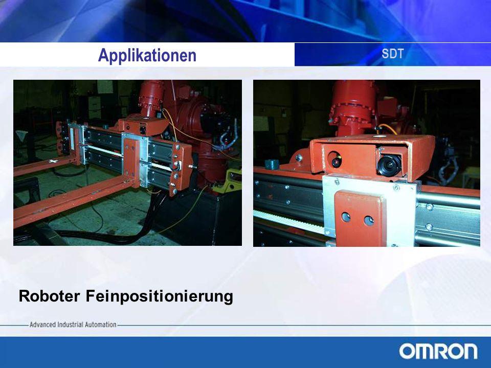 SDT Testaufbau Roboter/Vermessung Qualität messen