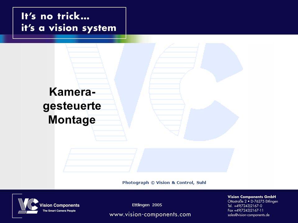 Ettlingen 2005 Kamera- gesteuerte Montage Photograph © Vision & Control, Suhl