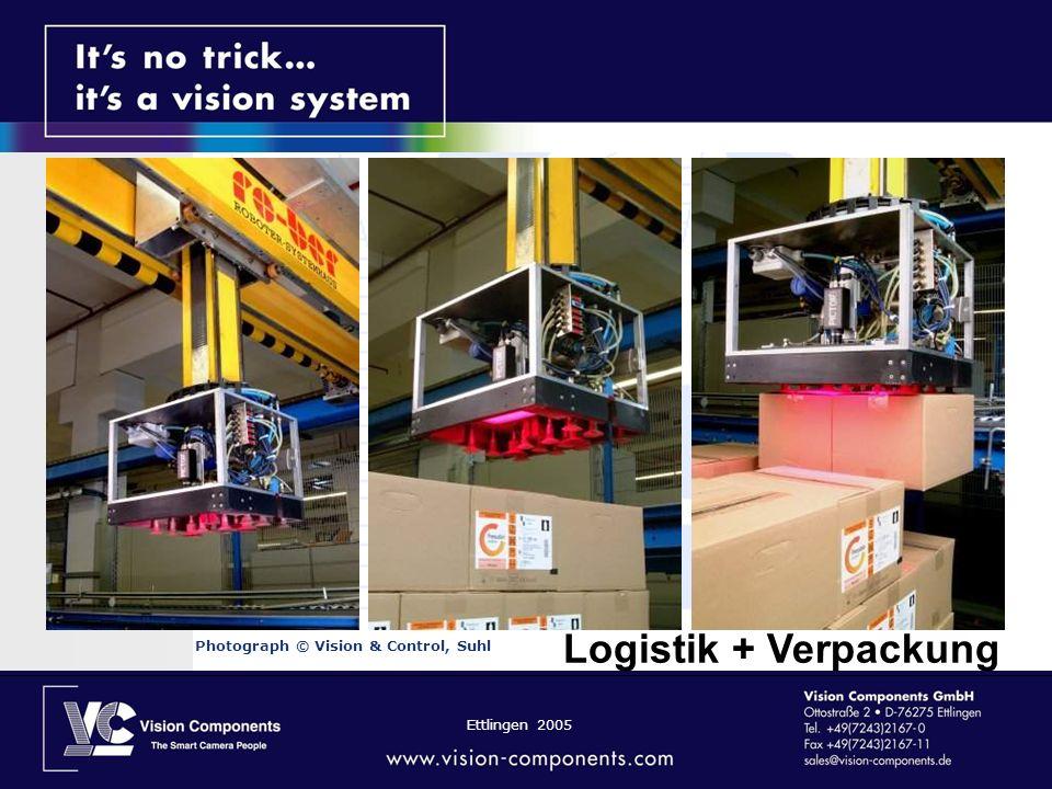 Ettlingen 2005 Photograph © Vision & Control, Suhl Logistik + Verpackung