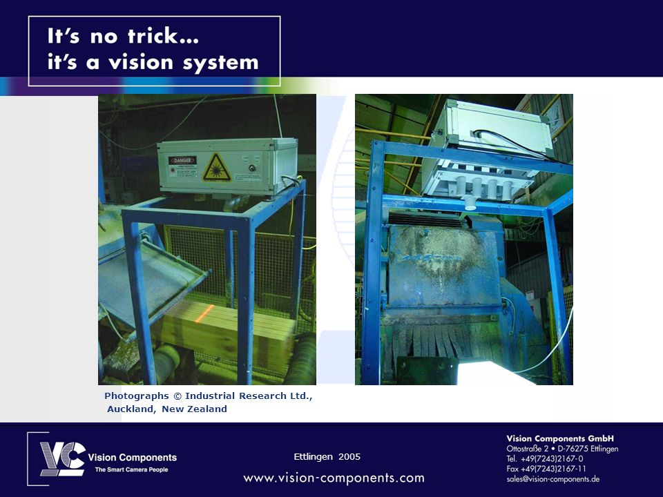 Ettlingen 2005 Photographs © Industrial Research Ltd., Auckland, New Zealand