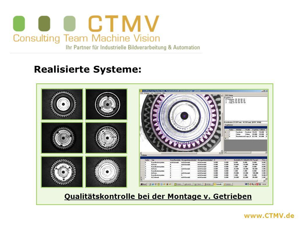 www.CTMV.de Erfahrung in folgenden Branchen u.