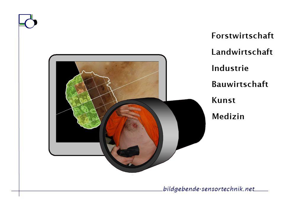 Forstwirtschaft Landwirtschaft Medizin Industrie Kunst Bauwirtschaft bildgebende-sensortechnik.net