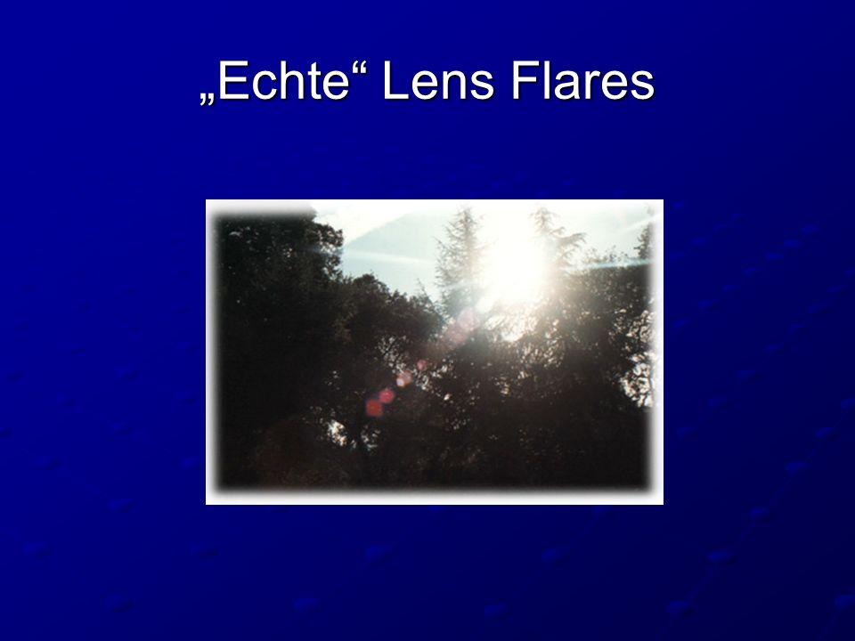 Echte Lens Flares