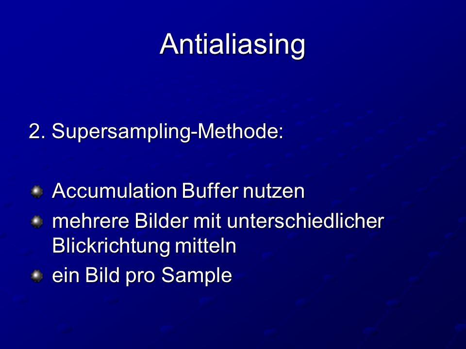 Antialiasing 2.