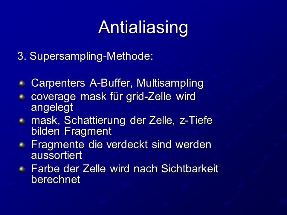 Antialiasing 3.