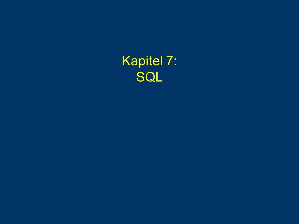 Microsoft SQL-Server 2000 Server: Enterprise-Manager Client:Query-Analyser 1970:System R mit Abfragesprache Sequel 1992:SQL-92 = SQL 2 1999:SQL:1999 = SQL 3