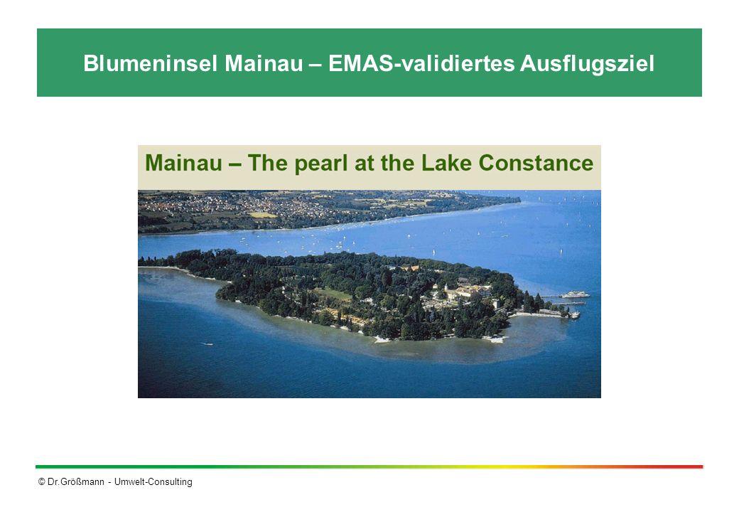 © Dr.Größmann - Umwelt-Consulting Blumeninsel Mainau – EMAS-validiertes Ausflugsziel