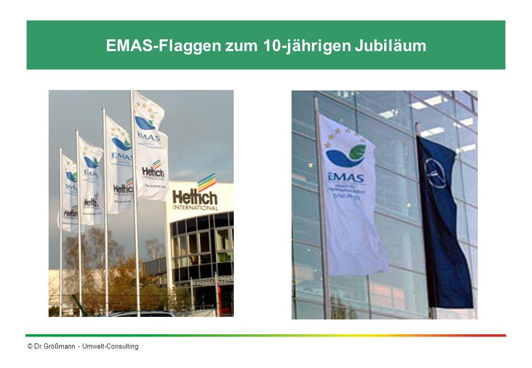 © Dr.Größmann - Umwelt-Consulting EMAS-Flaggen zum 10-jährigen Jubiläum