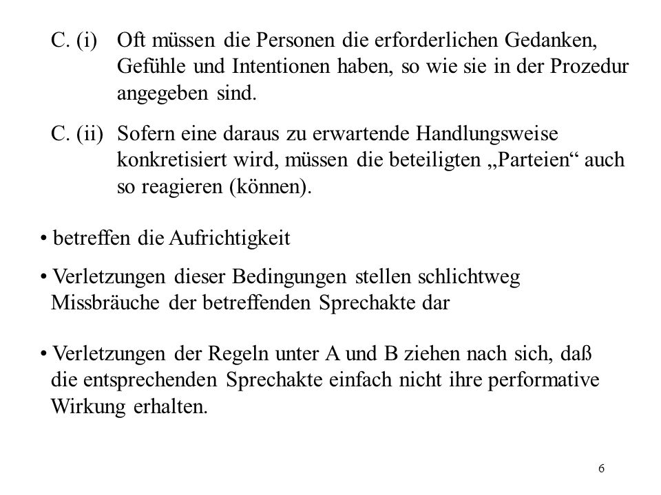 7 implizite vs.explizite performative Äußerungen (195)Ich bitte dich zu gehen.
