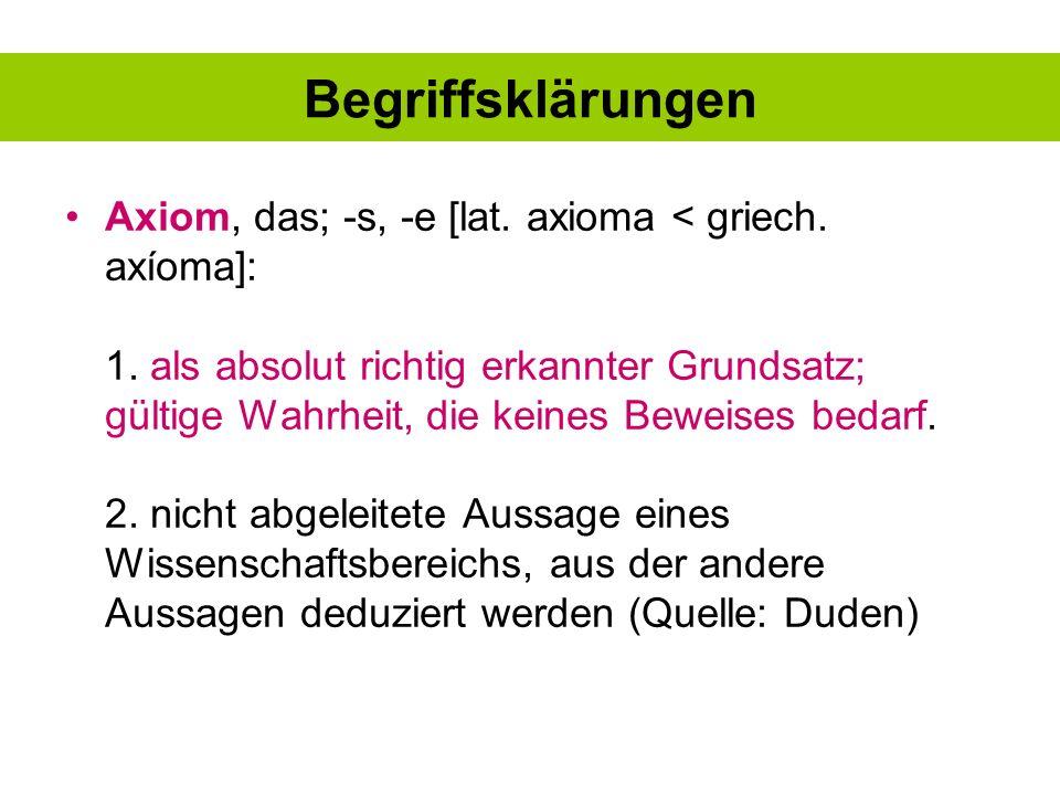 Voraussetzungen experimenteller Hypothesenprüfung Klärung der Terminologie (Definition Aggression, Definition Gewalt...)