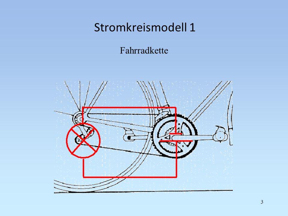 Reihenschaltung von Widerständen Aus zwei Widerstandsbauteilen und einer Spannungsquelle kann eine Reihenschaltung realisiert werden.