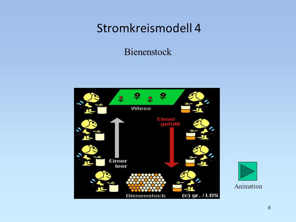 Stromkreismodell 4 Bienenstock 6 Animation