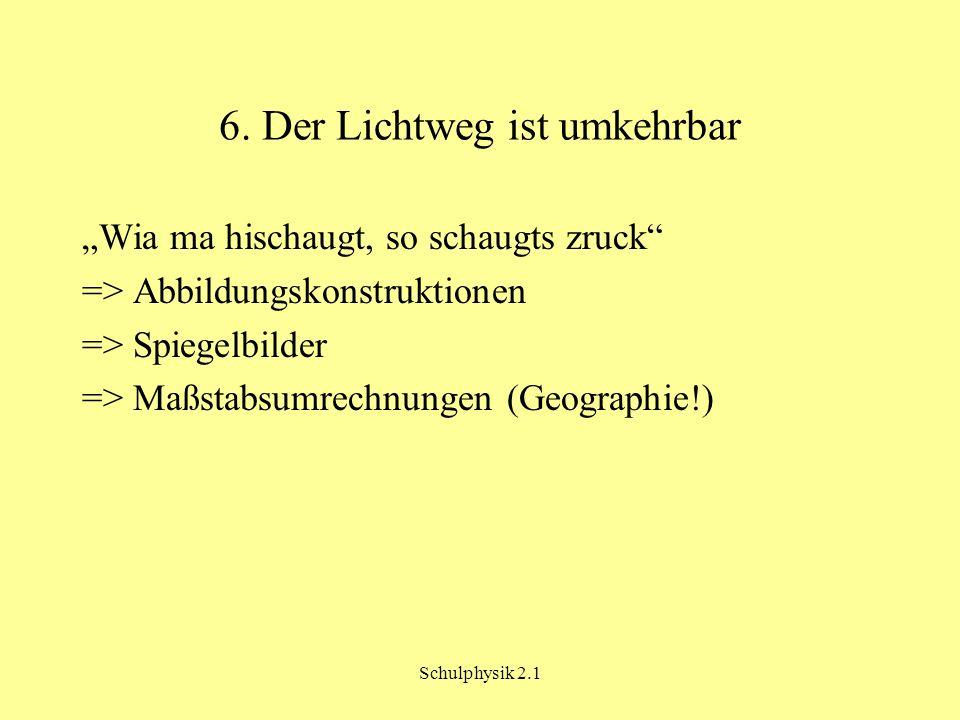Schulphysik 2.1 7.
