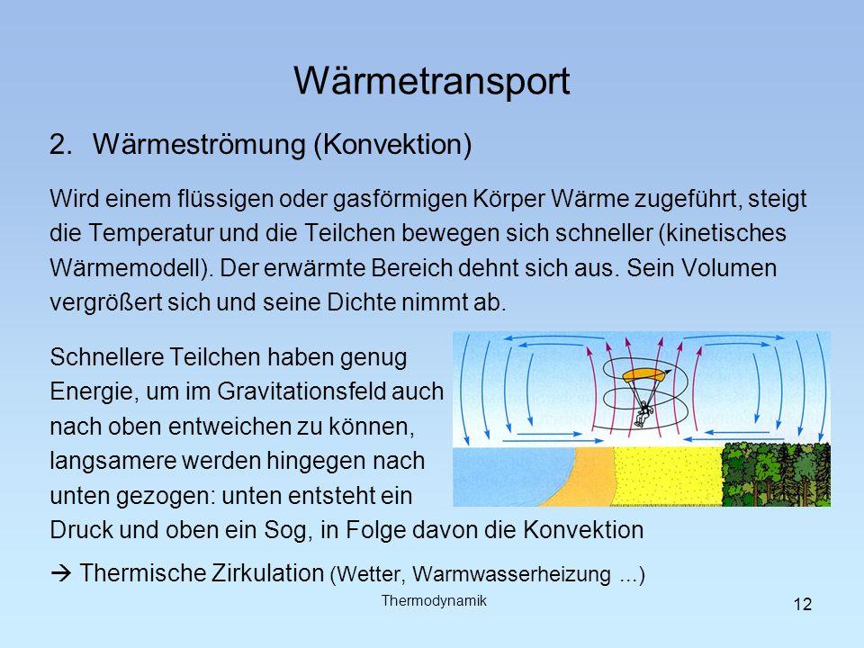 Wärmetransport 3.Wärmestrahlung Strahlung ist eine Form von Energie; je nach Wellenlänge wird sie unterschiedlich empfunden, z.B.