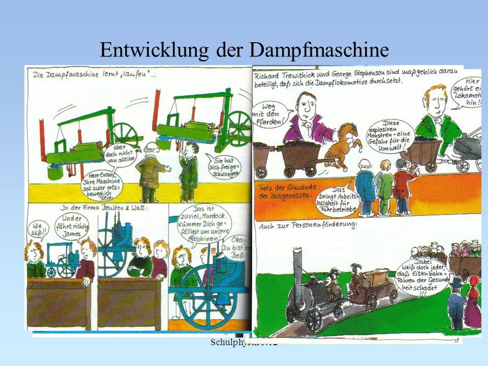 Schulphysik 1.12 Entwicklung der Dampfmaschine