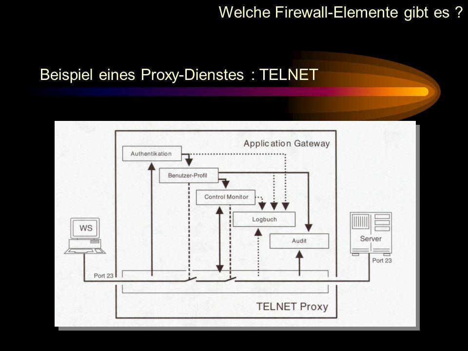 Allgemeine Arbeitsweise von Application-Gateways