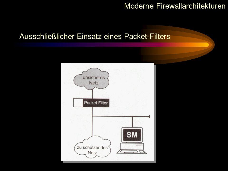 Moderne Firewallarchitekturen