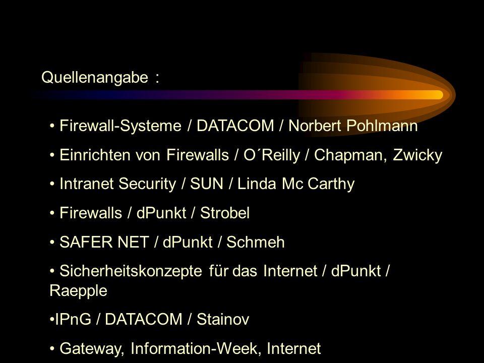 Zukunftstechnologien Aussichten: Verbesserung der Sicherheitsmechanismen in IPv6 Zusammenwachsen von Packet-Filter & Application- Gateways, die auch r