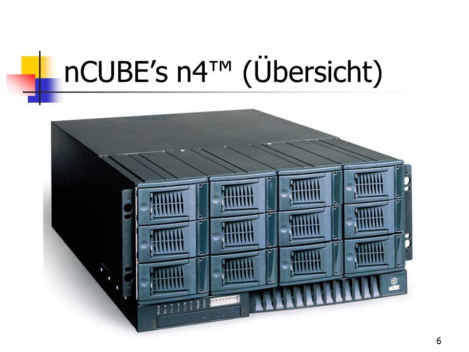 6 nCUBEs n4 (Übersicht)