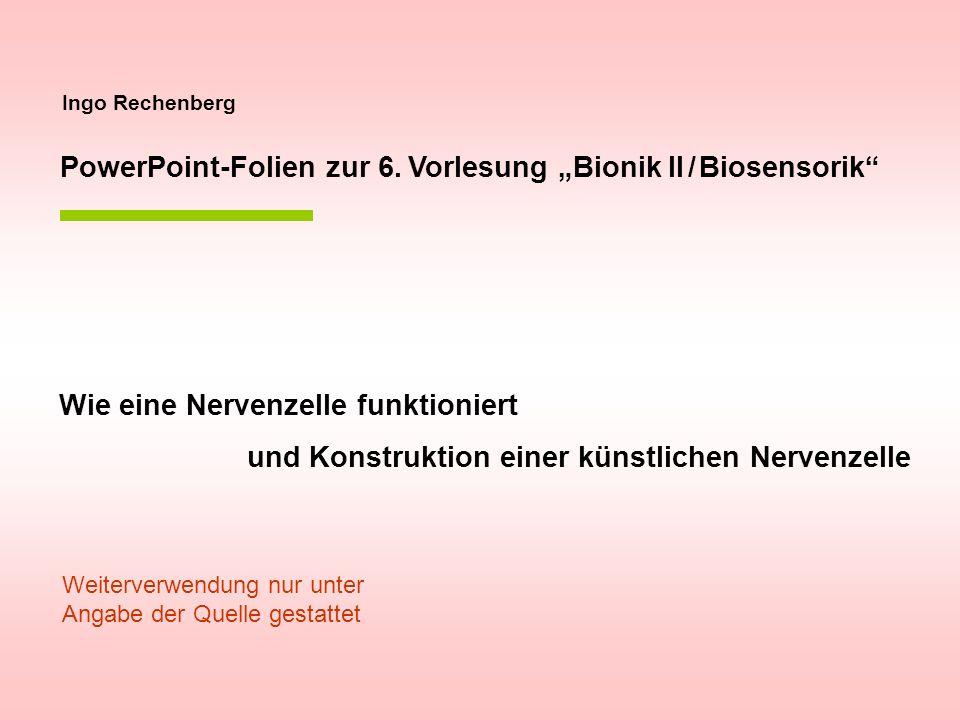 Bionik-Neuron VZ1 U F F U Das Berliner Neuronenmodell