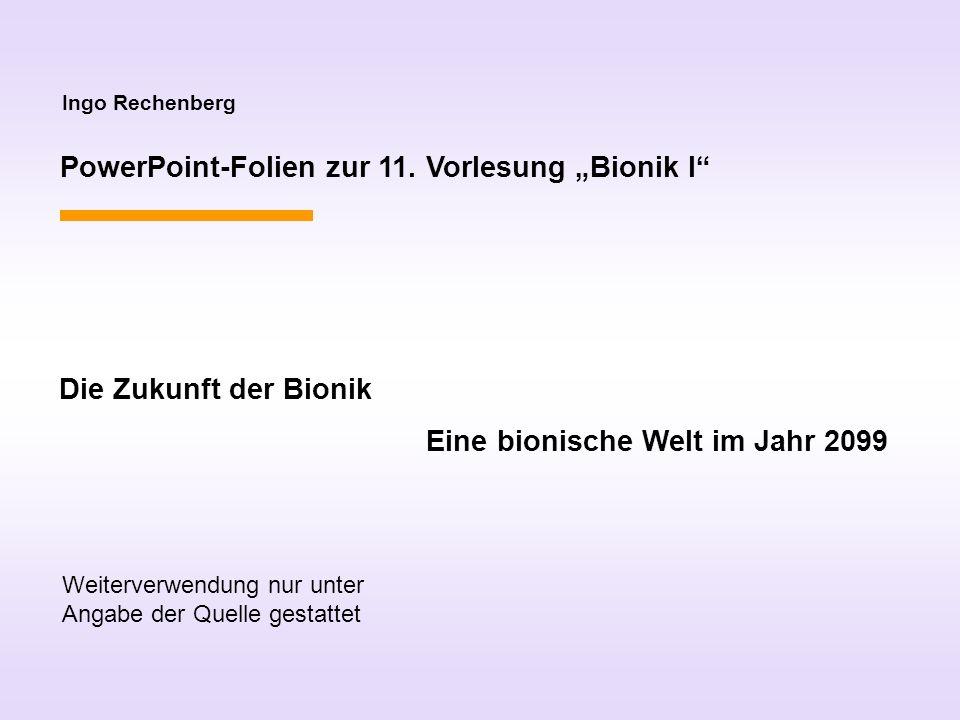 Ingo Rechenberg PowerPoint-Folien zur 11.