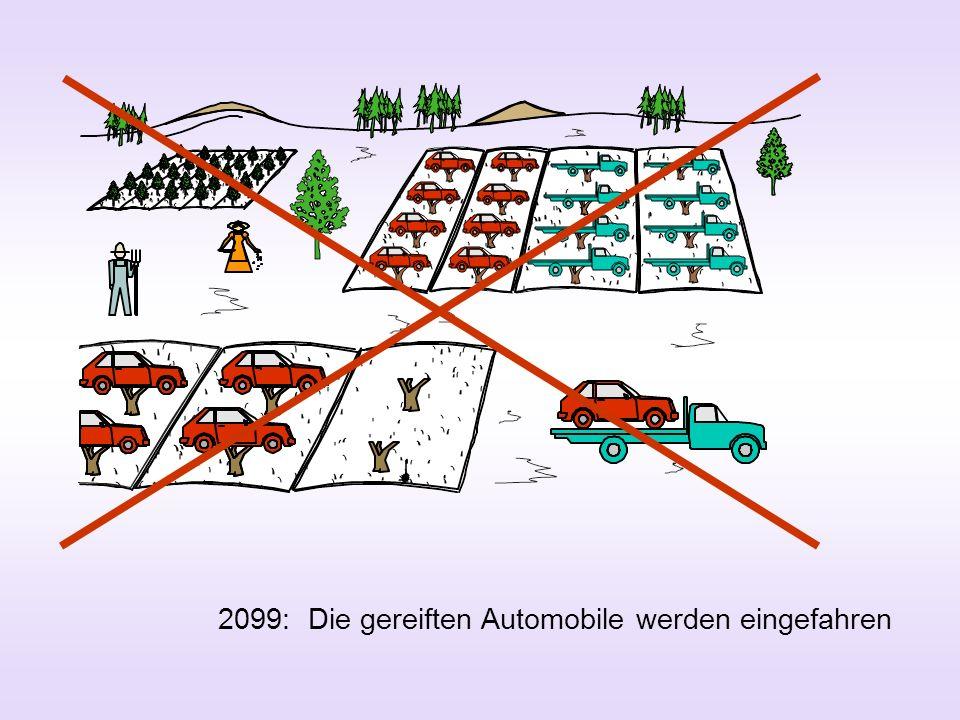 2099: Die gereiften Automobile werden eingefahren