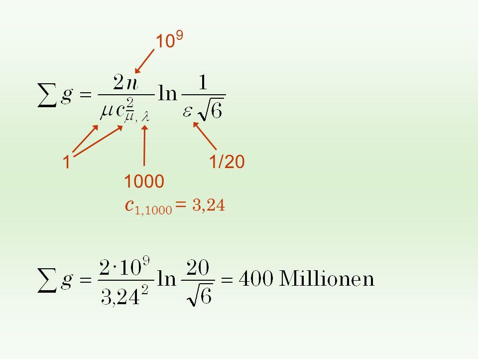 10 9 1/ 20 1 1000 c 1,1000 = 3,24