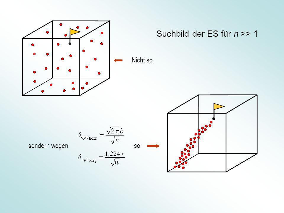 Suchbild der ES für n >> 1 sondern wegen Nicht so so