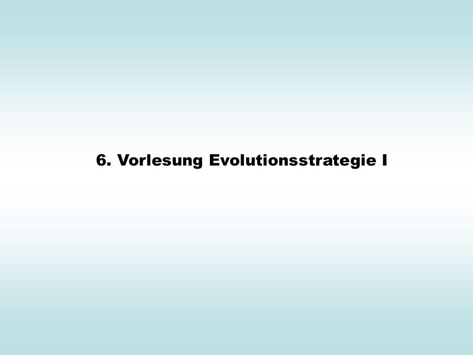 Gradientenstrategie kontra Evolutionsstrategie