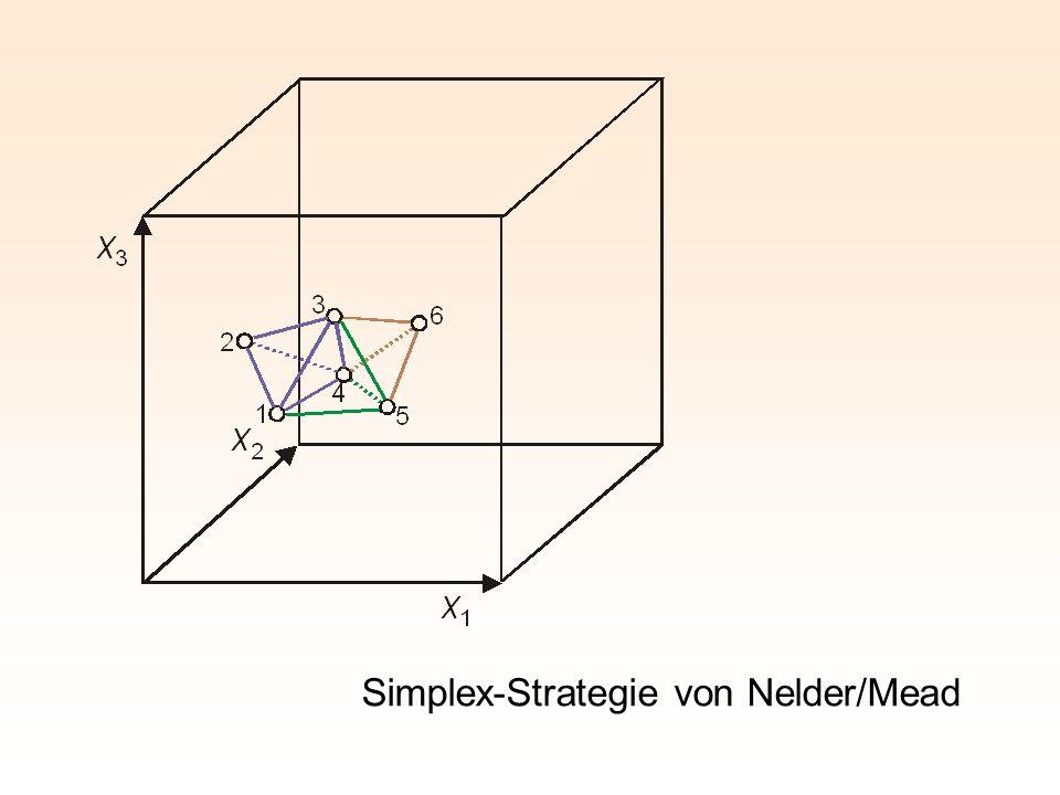 Simplex-Strategie von Nelder/Mead