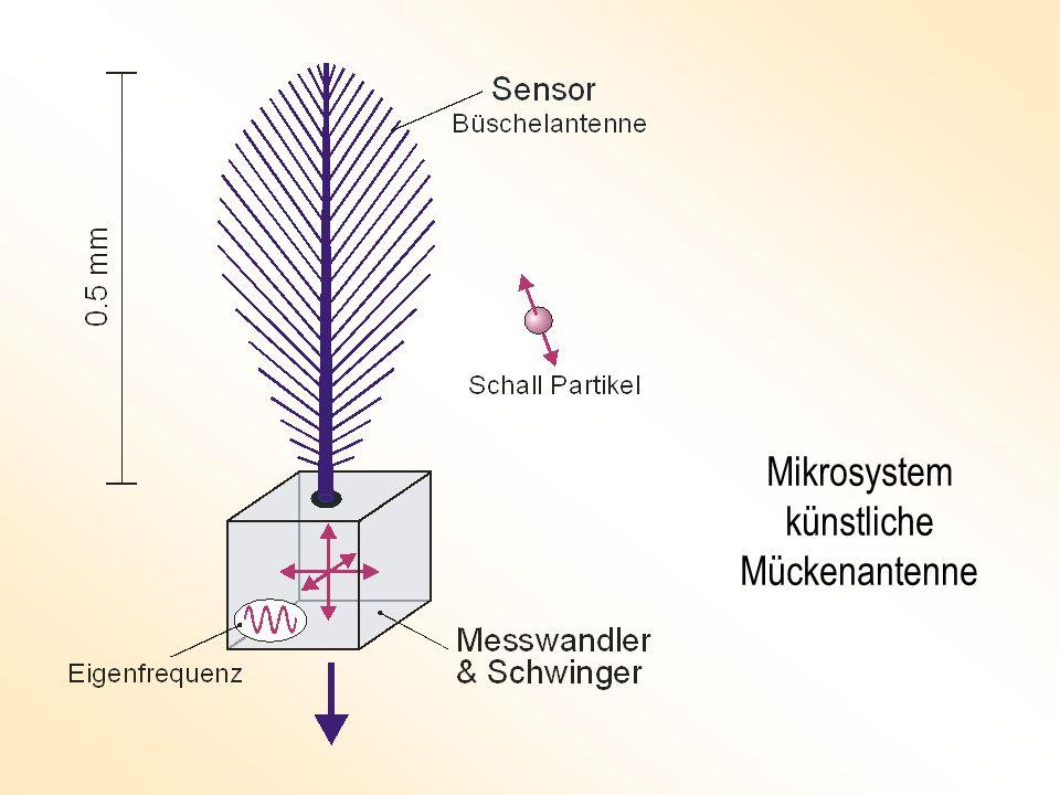 Mikrosystem künstliche Mückenantenne