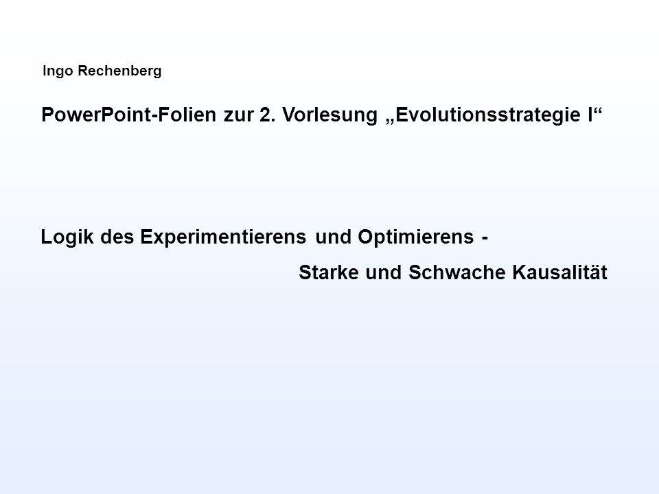 Ingo Rechenberg PowerPoint-Folien zur 2.